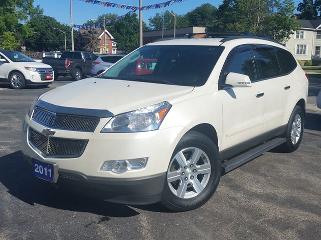 2011 Chevrolet Traverse 1LT,8 PASSENGER,POWER SEAT,HEATED SEATS,REAR-AC,REMOTE-START in Dunnville, Ontario