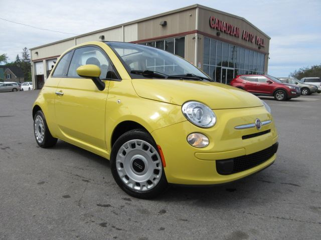 2012 Fiat 500 POP CONVERTIBLE, A/C, 5 SPD, 58K! in Stittsville, Ontario