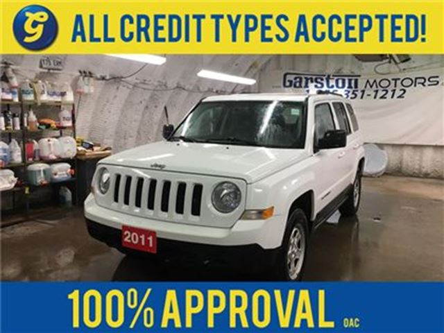 2011 JEEP PATRIOT NORTH*4WD*KEYLESS ENTRY*ALLOYS*CLIMATE CONTROL*POW in Cambridge, Ontario