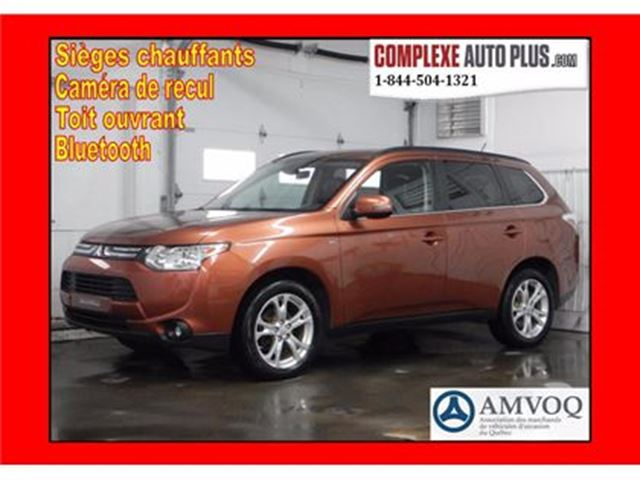 2014 Mitsubishi Outlander GT AWD 4x4 *Cuir/Toit/Banc chauffant in Saint-Jerome, Quebec