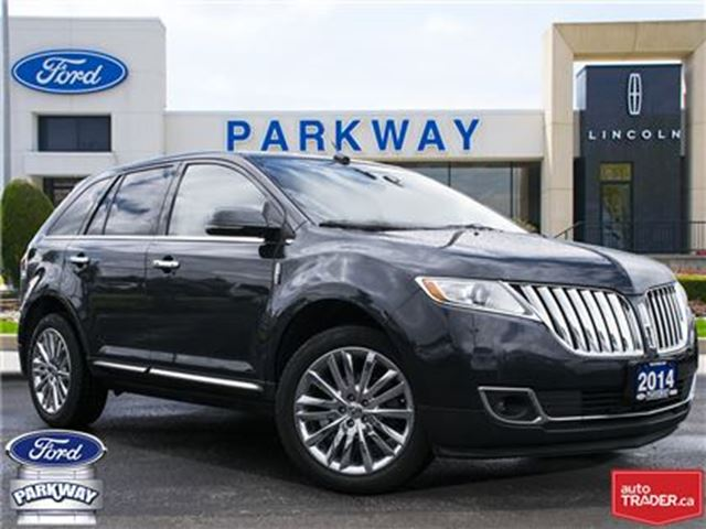 2014 Lincoln MKX AWD  LEATHER  GPS  BLUETOOTH  SUNROOF in Waterloo, Ontario