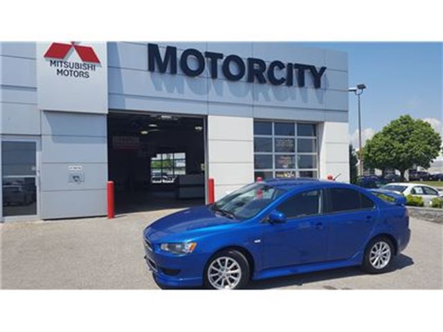 2012 MITSUBISHI LANCER - ALL WHEEL CONTROL - AIR COND - in Whitby, Ontario