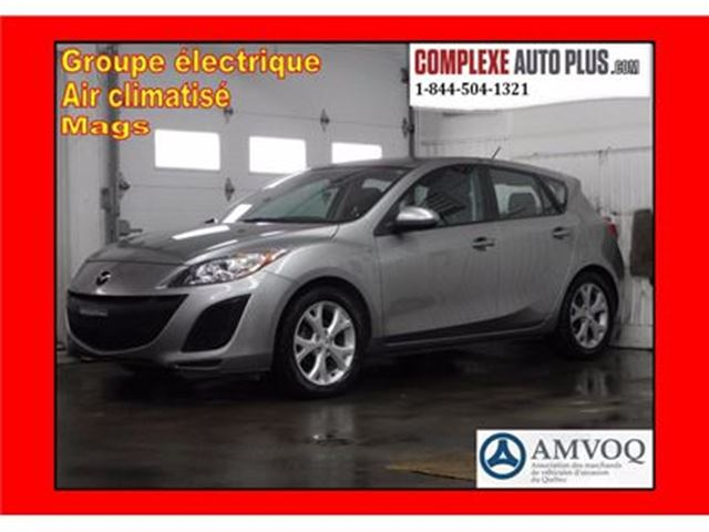 2011 Mazda MAZDA3 GX Hayon *A/C, Mags de GT, Groupe élec. in Saint-Jerome, Quebec