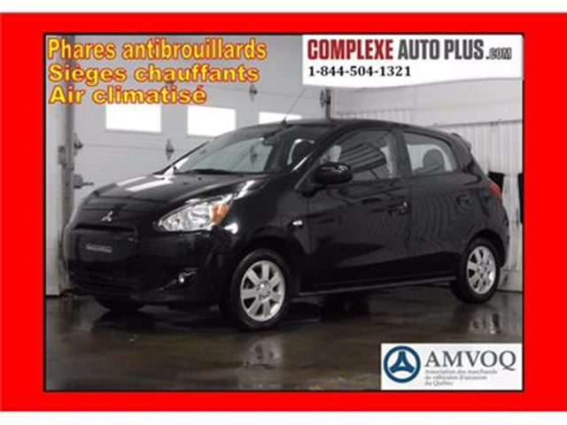 2014 Mitsubishi Mirage SE *Mags, Fogs, Bluetooth in Saint-Jerome, Quebec