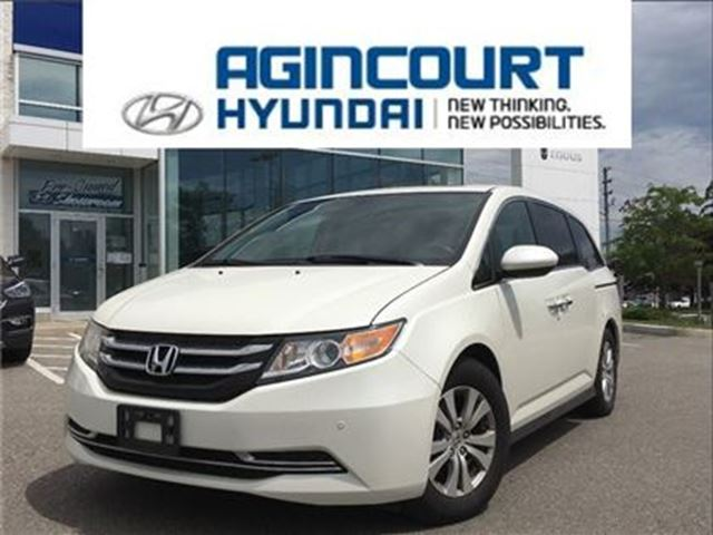 2016 HONDA ODYSSEY EX-Lw/RES/LEATHER/SUNROOF/REAR DVD/ONLY 38843KMS in Toronto, Ontario
