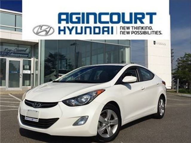 2013 HYUNDAI ELANTRA GLS AUTO/SUNROOF/ALLOYS/OFF LEASE/ONLY 49380KMS in Toronto, Ontario