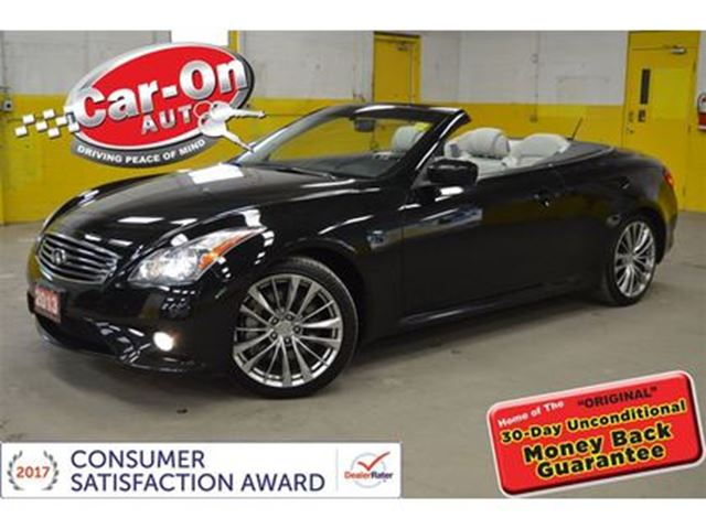 2013 Infiniti G37 G37S HARDTOP LEATHER BOSE AUDIO ALLOYS in Ottawa, Ontario