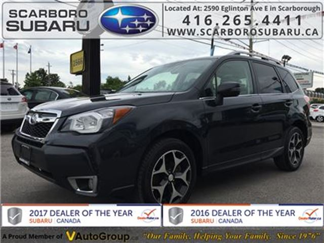 2014 SUBARU FORESTER 2.0XT Limited PKG, FROM 1.9% FINANCING AVAILABLE in Scarborough, Ontario