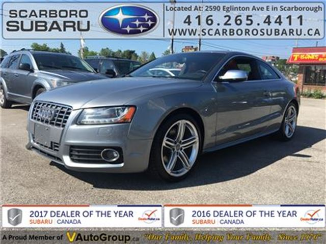2011 AUDI S5 4.2 Premium (Tiptronic), NO ACCIDENT !!! in Scarborough, Ontario