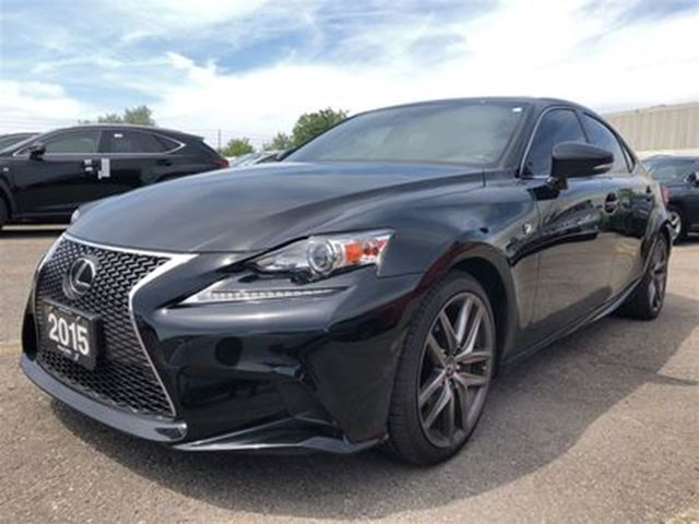 2016 Lexus IS 300 F SPORT   BSM   NAV   BACKUP CAM   MARK LEVINSON in Brampton, Ontario
