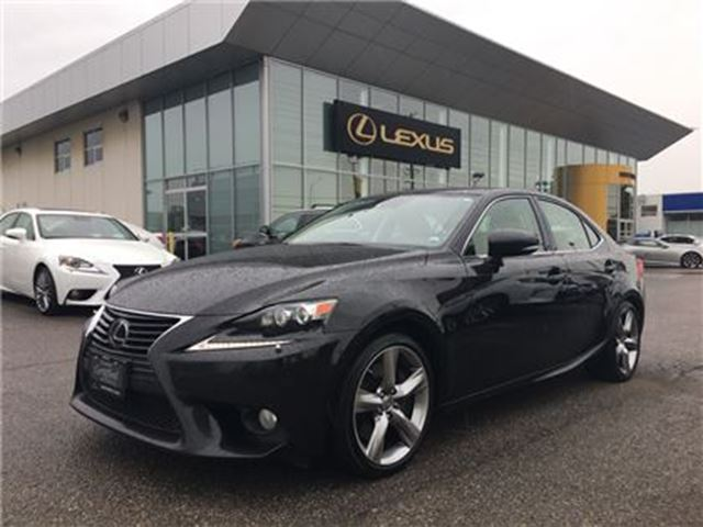 2014 Lexus IS 350 MARK LEVINSON   NAV   BSM   MOONROOF in Brampton, Ontario