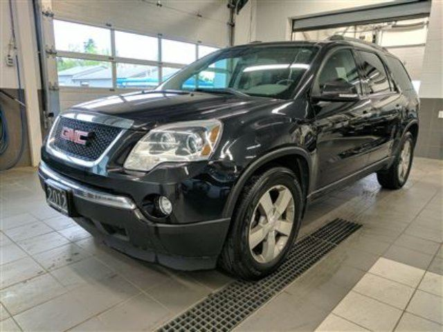 2012 GMC Acadia SLT AWD - DVD - 8 seater - Leather - Sunroof in Thunder Bay, Ontario