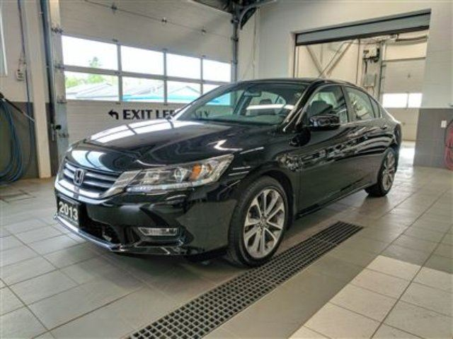 2013 Honda Accord Sport - RARE 6 spd manual - low km's - one owner in Thunder Bay, Ontario