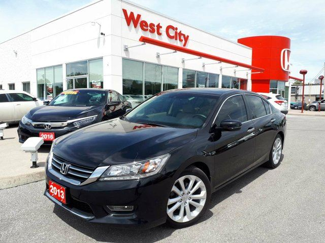 2013 Honda Accord Touring - LEATHER,ONE OWNER! in Belleville, Ontario