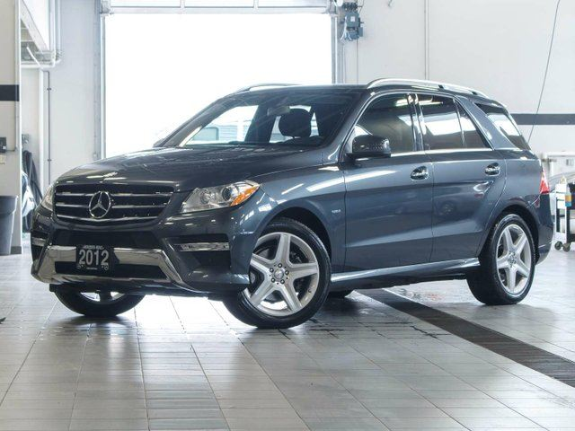 2012 MERCEDES-BENZ M-CLASS ML350 BlueTEC 4MATIC in Kelowna, British Columbia