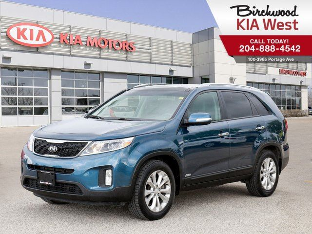 2015 KIA SORENTO EX SUNROOF *SUNROOF/ BLUETOOTH/ HEATED SEATS/ AWD* in Winnipeg, Manitoba