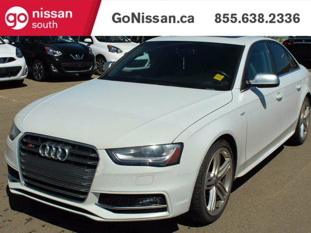 2013 AUDI S4 3.0T Premium 4dr All-wheel Drive quattro Sedan in Edmonton, Alberta