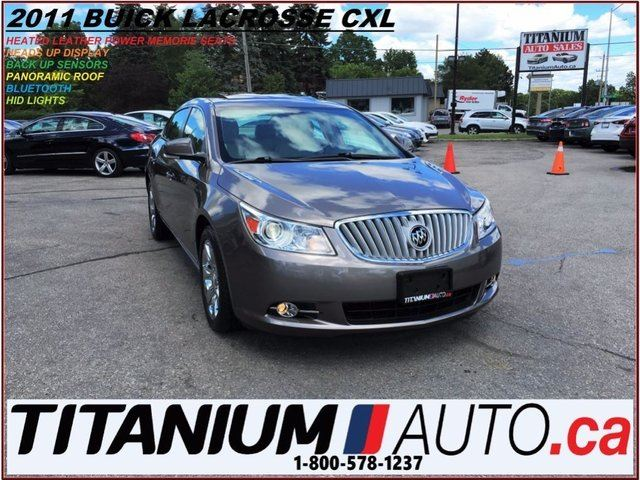 2011 BUICK LACROSSE CXL+Pano Roof+Heated Leather+Heads Up Display+++++ in London, Ontario