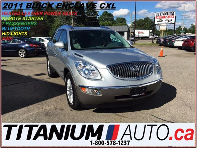 2011 BUICK Enclave CXL+AWD+Camera+7 Passengers+Heated Leather Seats++ in London, Ontario