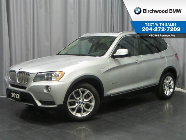 2013 BMW X3 28i Navigation! Technology, Executive, Premium Packages in Winnipeg, Manitoba
