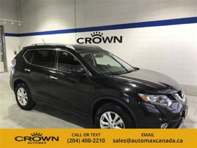 2016 NISSAN ROGUE SV AWD *Sunroof* in Winnipeg, Manitoba