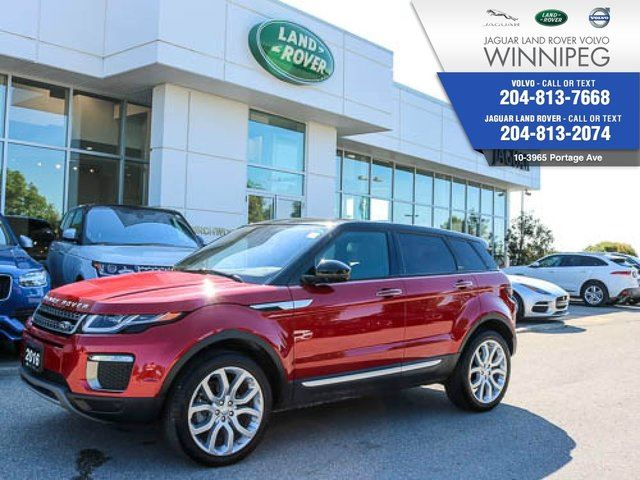 2016 LAND ROVER RANGE ROVER EVOQUE HSE *LOW KM* *NO ACCIDENTS* in Winnipeg, Manitoba