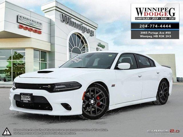 2016 DODGE CHARGER R/T Scat Pack w/Technology Package *Demo* in Winnipeg, Manitoba