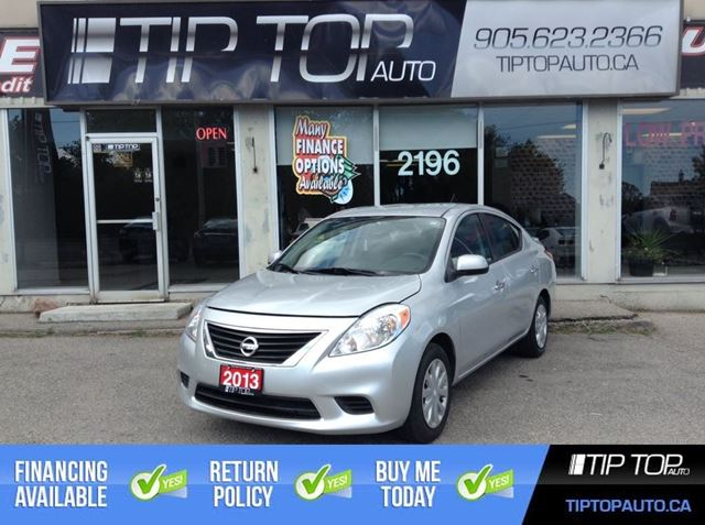 2013 NISSAN VERSA SV ** Low Kms, Automatic, A/C, Fuel Efiicient ** in Bowmanville, Ontario