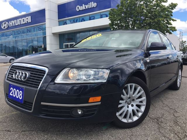 2008 Audi A6 3.2L  QUATTRO  NAVI  CAM  LEATHER  AS IS in Oakville, Ontario