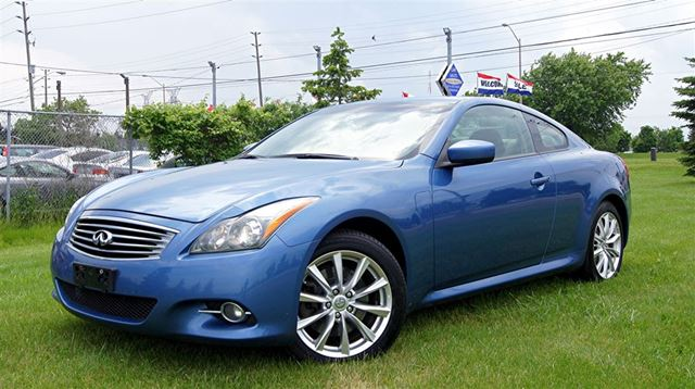 2012 Infiniti G37 x COUPE * AWD * CAMERA * LEATHER * SUNROOF * in Woodbridge, Ontario