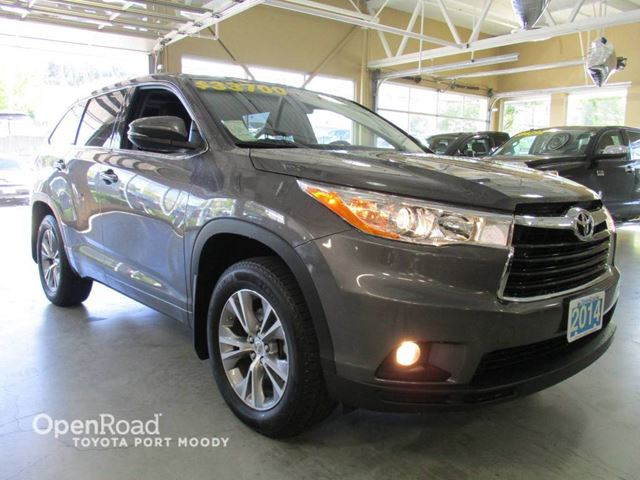 2014 TOYOTA HIGHLANDER LE Convenience Package - Bluetooth, FWD, Backup in Port Moody, British Columbia