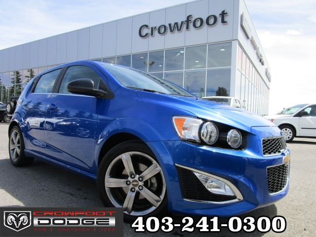 2016 Chevrolet Sonic RS TURBO AUTOMATIC in Calgary, Alberta