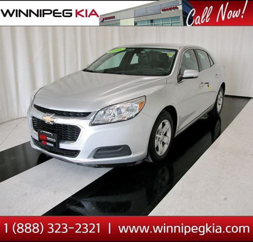 2016 CHEVROLET MALIBU LT in Winnipeg, Manitoba