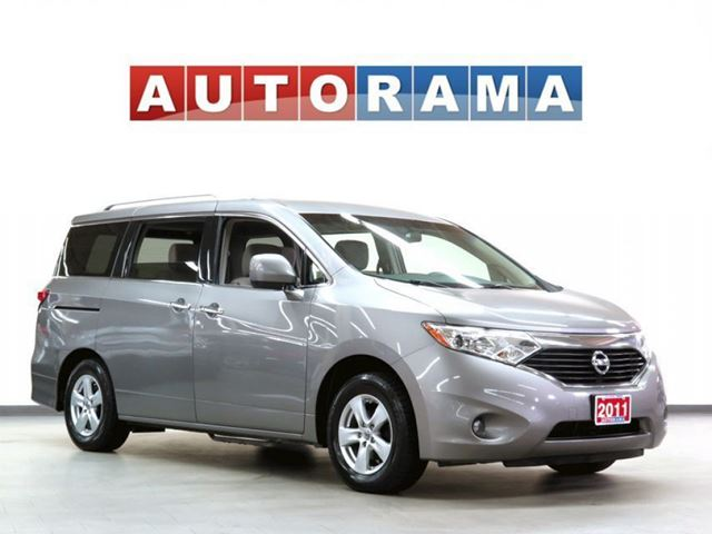 2011 Nissan Quest DUAL SLIDING DOORS BACK UP CAMERA 7 PASSENGER in North York, Ontario