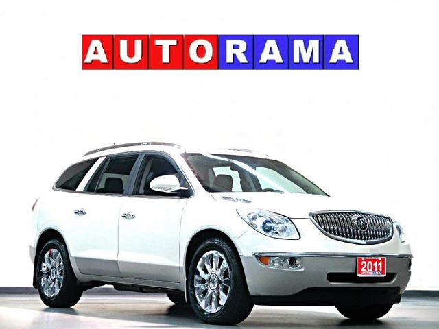 2011 Buick Enclave CXL LEATHER PANORAMIC SUNROOF 4WD NAVI 7 PASS in North York, Ontario