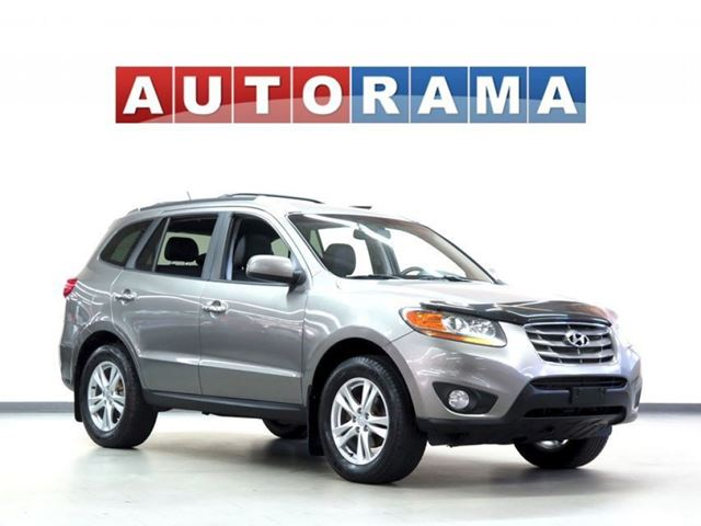 2011 Hyundai Santa Fe LIMITED LEATHER SUNROOF 4WD in North York, Ontario