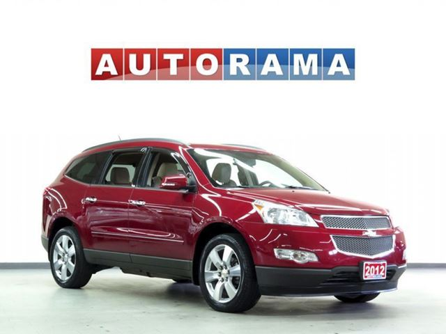 2012 Chevrolet Traverse LTZ LEATHER SUNROOF 4WD 7 PASSENGER in North York, Ontario
