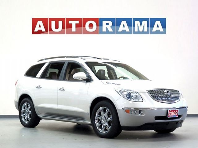 2009 Buick Enclave CXL NAVI LEATHER PAN SUNROOF DVD 7 PASS in North York, Ontario