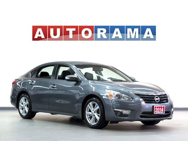2014 Nissan Altima SL LEATHER SUNROOF ALLOY WHEELS in North York, Ontario