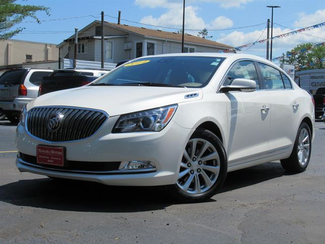 2014 Buick LaCrosse Leather Package ** ONE Owner!  Purchased, SERVI in Virgil, Ontario