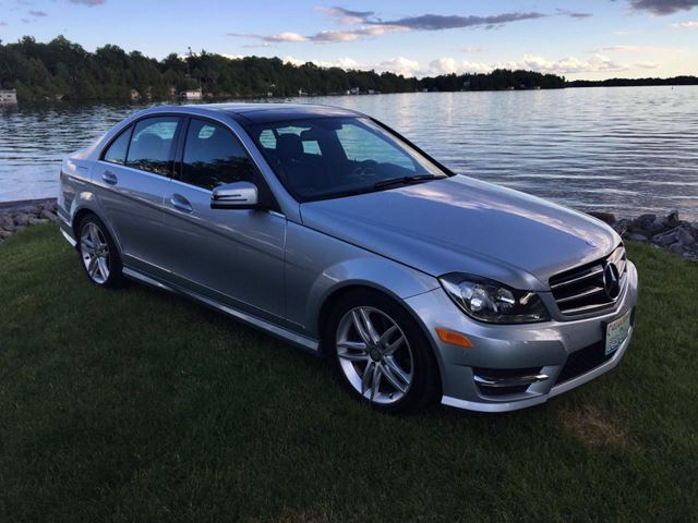 2014 Mercedes-Benz C-Class C 300 4 matic only 62300 km in Perth, Ontario