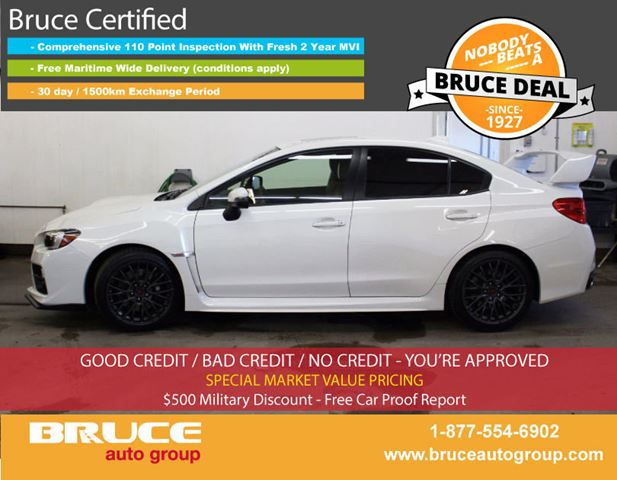 2015 Subaru Impreza WRX STi 2.5L 4 CYL 6 SPD MANUAL AWD 4D SEDAN in Middleton, Nova Scotia