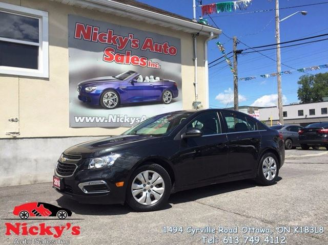 2016 Chevrolet Cruze LIMITED - LT - AUTO - LOADED! in Ottawa, Ontario