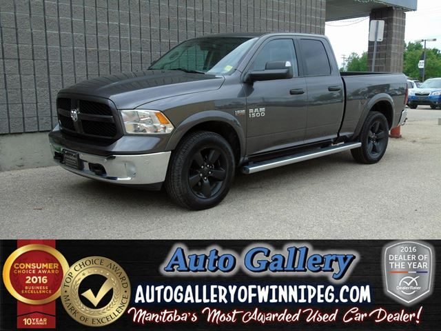 2014 DODGE RAM 1500 Outdoorsman  4x4 in Winnipeg, Manitoba