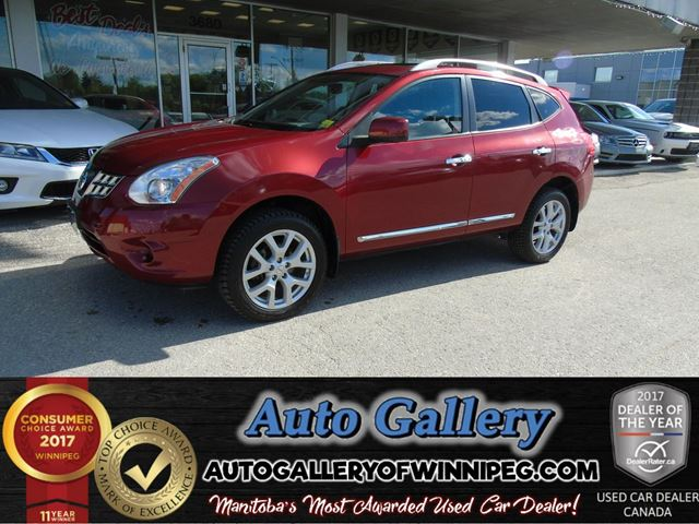 2013 NISSAN ROGUE SL AWD *Lthr/Nav in Winnipeg, Manitoba