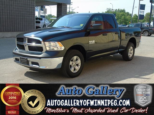 2017 DODGE RAM 1500 ST *Only 1,017 kms! in Winnipeg, Manitoba