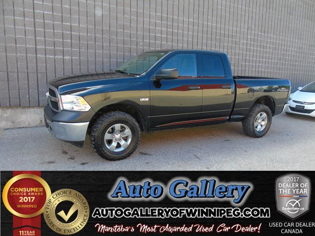 2015 DODGE RAM 1500 ST 4x4 *Hemi in Winnipeg, Manitoba