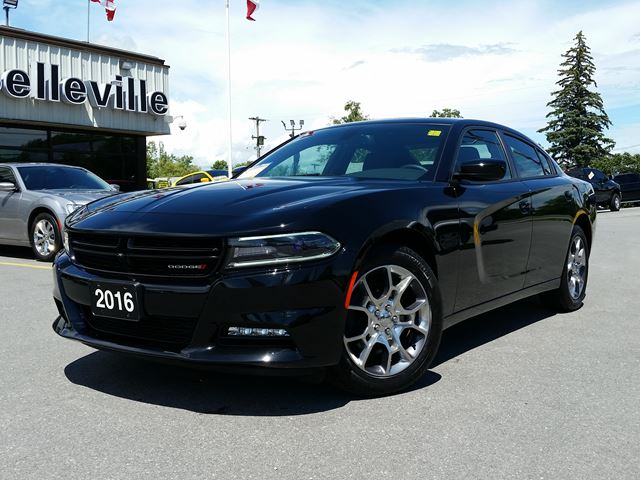 2016 Dodge Charger ALL WHEEL DRIVE -  SUNROOF - 8.4 RADIO - HEATED SEATS in Belleville, Ontario