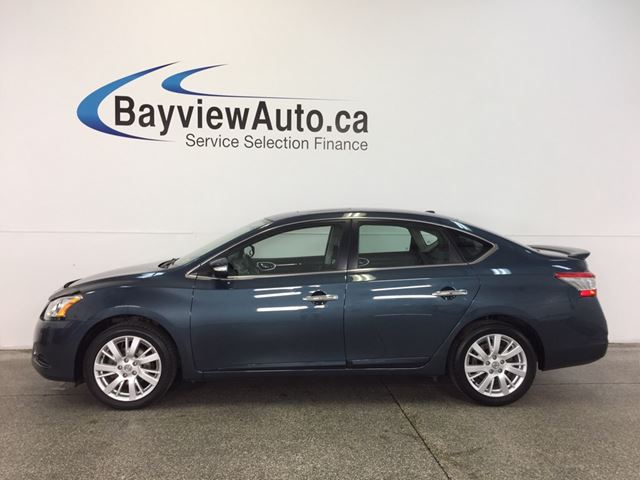 2013 Nissan Sentra SL- ALLOYS! SUNROOF! LEATHER! BOSE! BLUETOOTH! in Belleville, Ontario