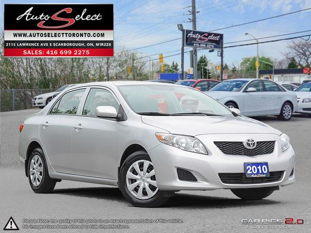 2010 TOYOTA COROLLA ONLY 152K! **CLEAN CARPROOF** POWER OPTIONS in Scarborough, Ontario